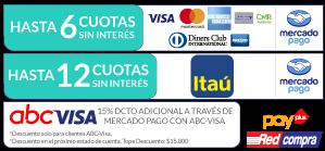 Clínica Vitaláser - métodos de pago