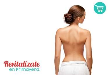 Depilación Láser Media Espalda Inferior Mujer