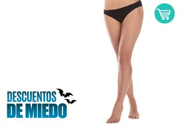 Depilación Láser Piernas + Brasileño Mujer