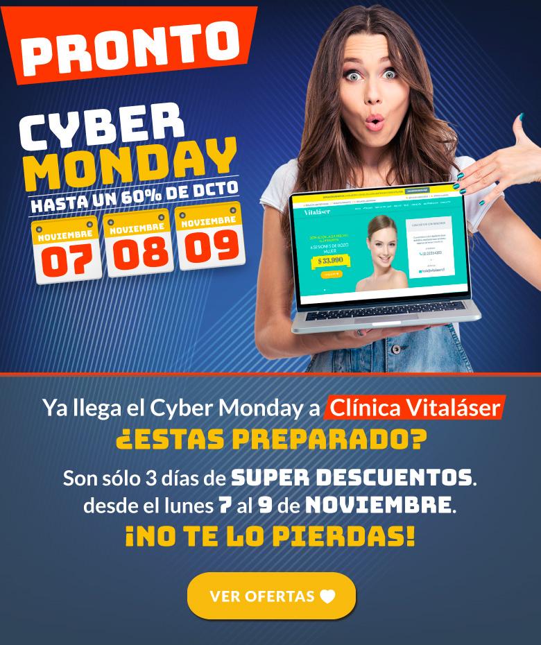 Cyber Monday Clínica Vitaláser