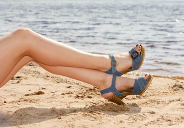 Los pies hermosos son más facíl de obtener con Vitaláser.