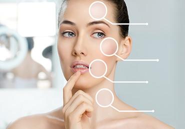 La depilación láser aclara la piel.
