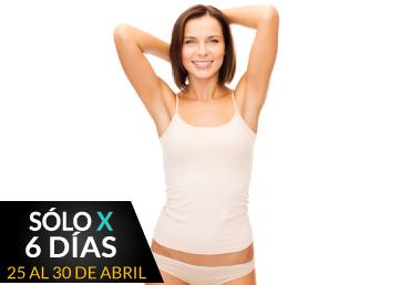Depilación Rebaje Brasileño + Axilas