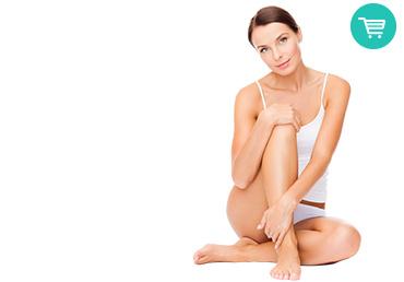 depilación láser piernas completas mujer