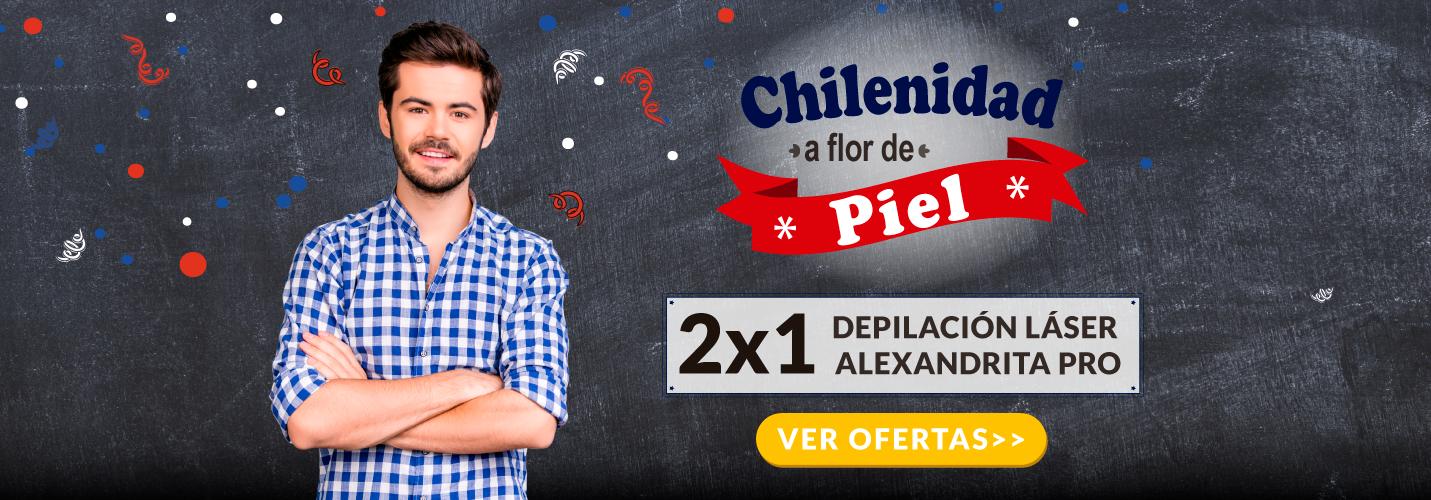 Depilacion Laser Alexandrita PRO Hombre - Chilenidad a flor de Piel