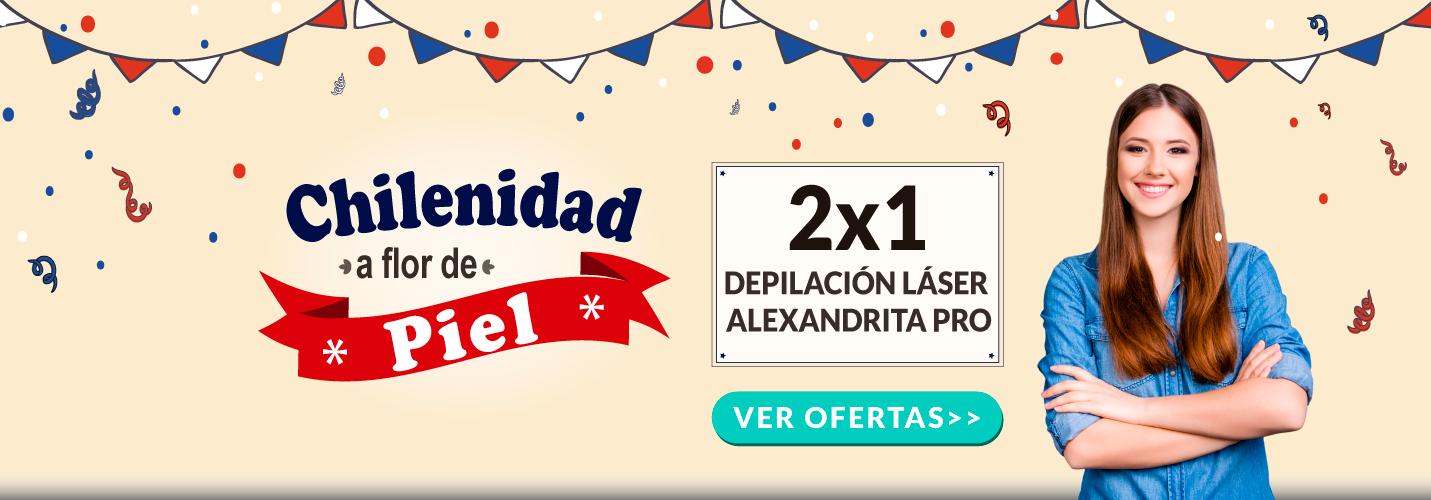 Depilacion Laser Alexandrita PRO Mujer - Chilenidad a flor de Piel