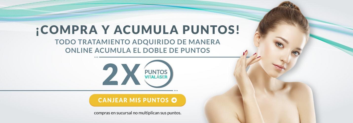 Compra y Acumula Puntos Vitaláser