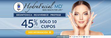 Tratamiento Facial Hydrafacial MD
