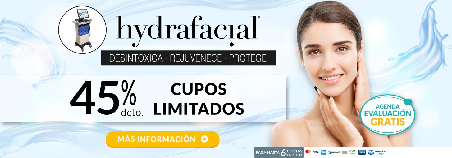 Tratamiento Facial HydrafacialMD