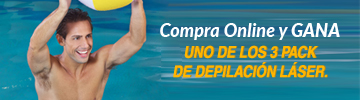 ¡Compra y Gana! un Pack de Depilación Láser.