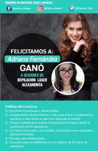 DEPILCIÓN LÁSER ALEXANDRITA - CONCURSO FACEBOOK