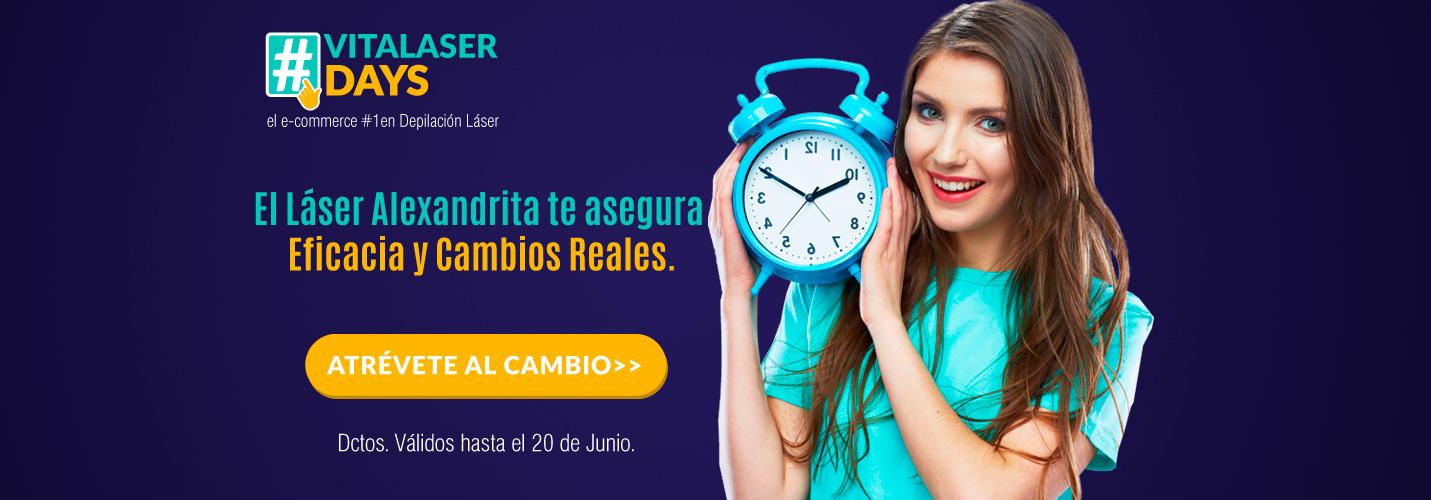 Depilación Láser Alexandrita Mujer Santiago Providencia Vitalaser Day