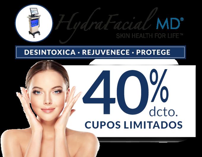 Tratamiento Facial Hydrafacial MD para Hombres y Mujeres