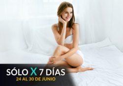 Depilación Láser Pierna Inferior + Rebaje Brasileño + Axilas Mujer