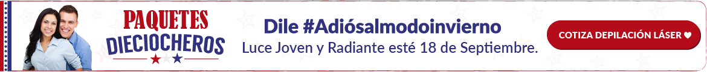 Depilación Láser Alexandrita - Paquetes Dieciocheros
